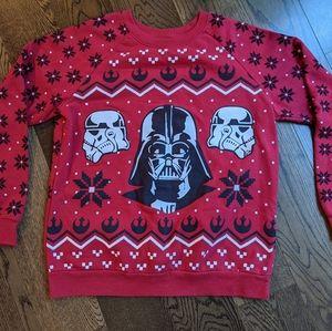 Star Wars Darth Vader Christmas Crew Neck Sweater